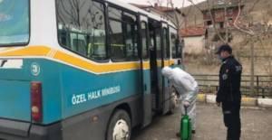 Erbaa'da 32 halk minibüsü şoförü, tedbirler sayesinde koronavirüse yakalanmadı