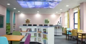 Erbaa'da 4 okula daha Z kütüphane kuruldu