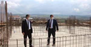 Erbaa'da eğitim uygulama okulunun temeli atıldı