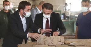 Vali Balcı, Turhal'da İncelemelerde Bulundu