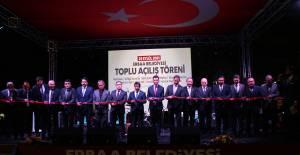 Erbaa'da 60 milyon değerindeki 7 projenin açılışı yapıldı