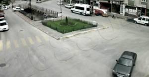 Tokat'ta kazalar güvenlik kamerasında
