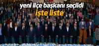 AK Parti Erbaa 6'ıncı ilçe kongresi yapıldı