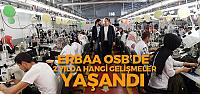 """Başkan Yıldırım """"OSB'de yeni fabrikalar açılacak"""""""