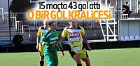 Büşra 15 Maçta 43 Gol Attı: