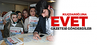 CHP Lideri Kılıçdaroğlu'na 'evet' gazetesi gönderdiler