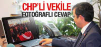CHP'li Mahmut Tanal'a Fotoğraflı Cevap