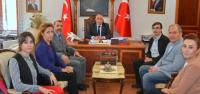 Eczacılar Odası Yönetiminden Vali Can'a Ziyaret