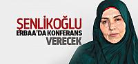 Emine Şenlikoğlu Erbaa'da Konferans Verecek