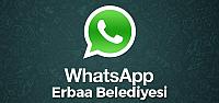 Erbaa Belediyesine Whatsapp Hattı