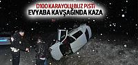 Erbaa D100 Karayolunda Kaza