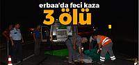 Erbaa Otogar Kavşağında Feci Kaza: 3 Ölü