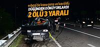 Erbaa'da Feci Kaza 2 Ölü 3 Yaralı
