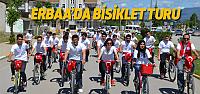 Erbaa'da Gençler'den Bisiklet Turu