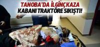 Erbaa'da Kabanı Traktörün Şaftına Takılan Kişi Yaralandı