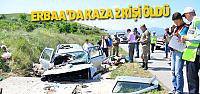 Erbaa'da Kaza: 2 Ölü
