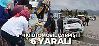 Erbaa'da kaza 6 yaralı