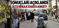 Erbaa'da O Anket Açıklandı! İşte Sonuçlar
