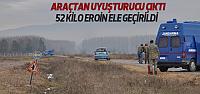 Erbaa'da Otomobilde 52 Kilogram Eroin Ele Geçirildi