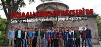 Erbaalı Gençler Kayseri'de