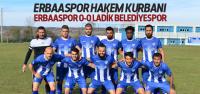 Erbaaspor 0-0 Ladik Belediyespor