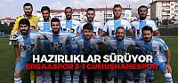Erbaaspor 3-1 Gümüşhanespor