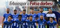 Erbaaspor 3 Puanı Fatsa'da Bıraktı