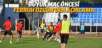 Erbaaspor play-off finali için hazırlıklarını sürdürüyor
