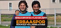 Erbaaspor Sebahattin Tekin ile yollarını ayırdı
