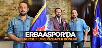 Erbaaspor Teknik Direktör Necdet Emre Özbayer ile anlaştı