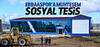 Erbaaspor'a Muhteşem Tesis
