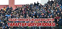 Erbaaspor'a Yasak Kalktı İddiası Valilik Açıklaması Bekleniyor