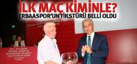 Erbaaspor'un BAL Fikstürü Çekildi