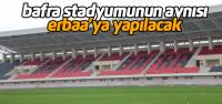 Erbaa'ya yapılacak yeni stadyumun ihalesi 7 Kasımda yapılacak