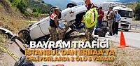 İstanbul'dan Erbaa'ya Bayram Tatiline Geliyorlardı: 2 Ölü 3 Yaralı