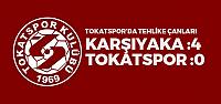 Karşıyaka-Tokatspor: 4-0