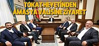 Meclis Başkanlarından Vali Çomaktekin'e Ziyaret