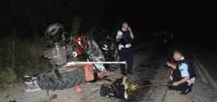 Minibüs Traktöre Çarptı: 1 Ölü, 1 Yaralı