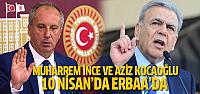Muharrem İnce ve Aziz Kocaoğlu Erbaa'da hayır mitingine katılacak