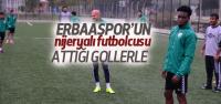 Nijeryalı Futbolcu 'Smart' Erbaaspor'un Gözdesi
