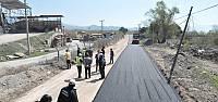 Niksar Küçük Sanayi Sitesinde asfalt çalışması başladı