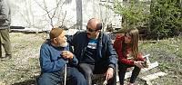 Niksar'da öğrenciler yaşlıları unutmadı