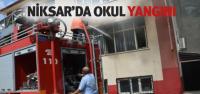 Niksar'da Okul Yangını