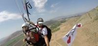 Paraşütle 600 Metrede Pankart Açarak Evlilik Teklifi Yaptı