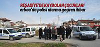 Polisi Alarma Geçiren İhbar