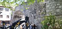 Tarihi Leylekli Köprüsü'nde kemer aranıyor