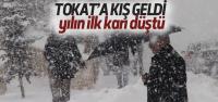Tokat'a İlk Kar Düştü