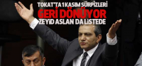 Tokat'ta AK Parti, CHP ve MHP Listelerinde kimler var?