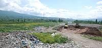 Tokat'ta çöp dağları yeşil alana dönüşecek