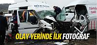 Tokat'ta minibüs kazası çok sayıda yaralı var